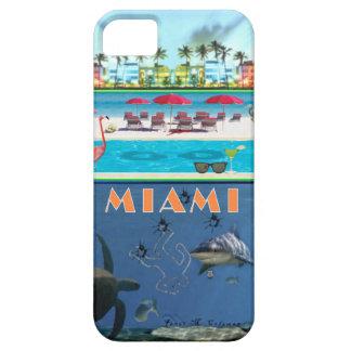 Misterio de Miami para el iPhone 5 (casamata) Funda Para iPhone 5 Barely There