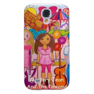 Misterio Jean y la caja de IPod de los sueños Funda Para Galaxy S4
