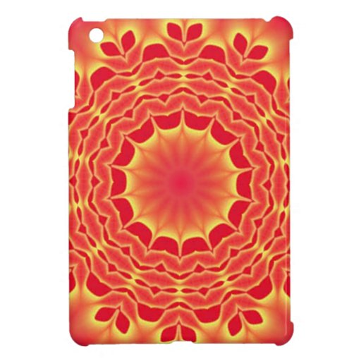 Misterio rojo, caso del iPad del arte de la mandal