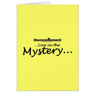 misterio tarjeta de felicitación