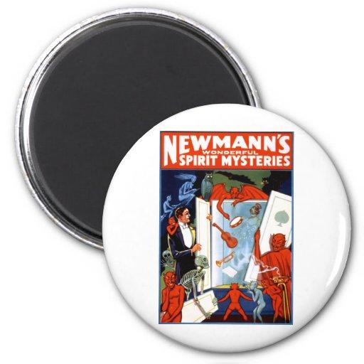 Misterios del alcohol de Newmann Imán Redondo 5 Cm