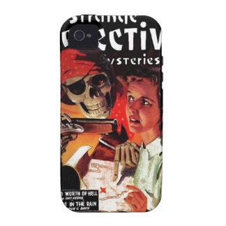 Misterios detectives extraños Case-Mate iPhone 4 fundas