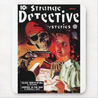 Misterios detectives extraños alfombrilla de raton