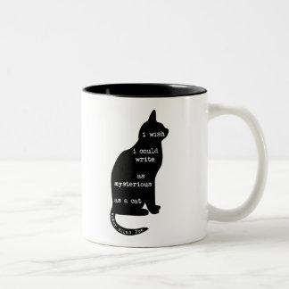 Misterioso como cita de Edgar Allan Poe del gato