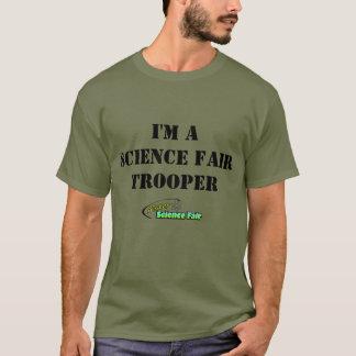 """MisterScienceFair """"soy un soldado de caballería de Playera"""