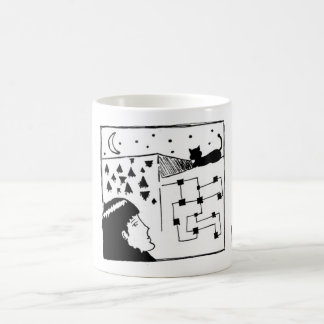 Mistery Cat Coffee Mug
