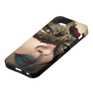 Mistery Girl Mask iPhone SE/5/5s Case