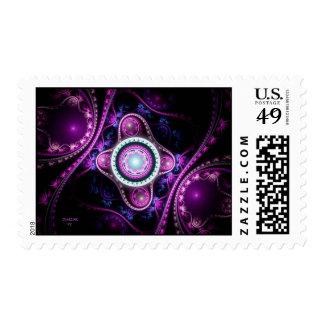 Mistic Violet Postage Stamp