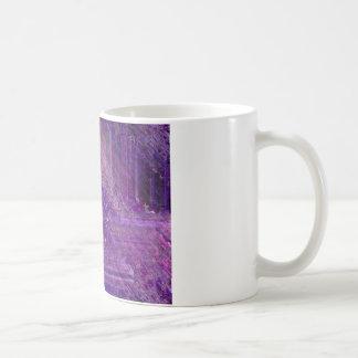 Mística púrpura taza de café