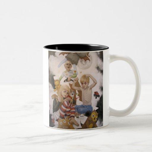 Misticismo cultivado tazas de café