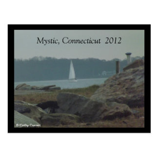 Místico, Connecticut después de la postal de Sandy