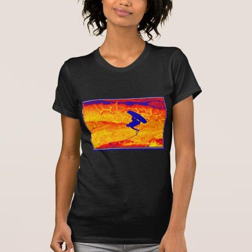Místico de Wakeboard Camisetas