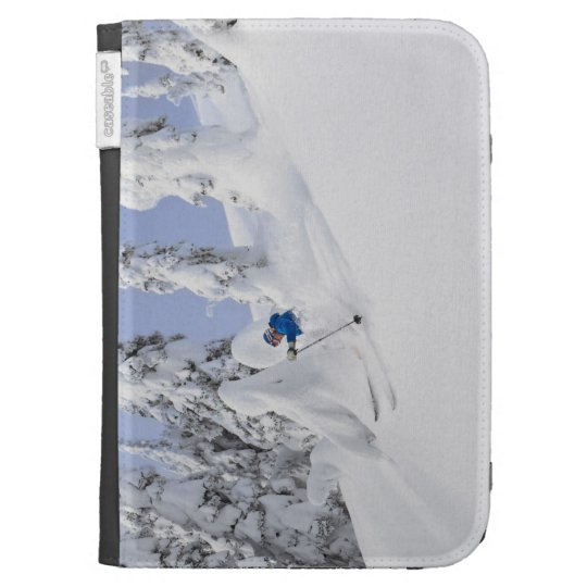 Mistie Fortin skis powder Kindle Cover