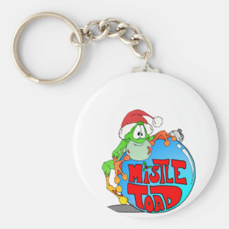 Mistle Toad Ornament Keychain