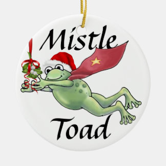 MistleToad 3 - SRF Ceramic Ornament