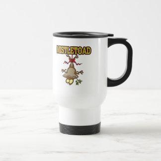 Mistletoad Mistletoe Toad Cartoon Coffee Mug