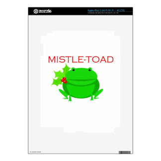 Mistletoad Skins For iPad 3
