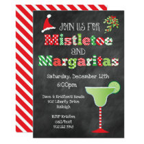 Mistletoe and Margaritas Christmas Party Invitation