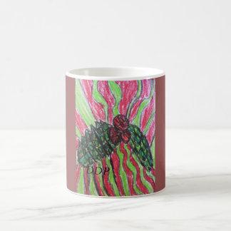 Mistletoe art magic mug