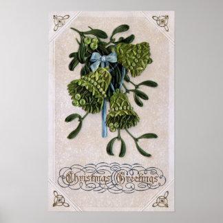 Mistletoe Bells Posters