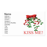 Mistletoe Double-Sided Standard Business Cards (Pack Of 100)