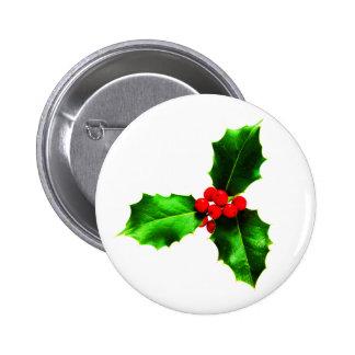 Mistletoe Button