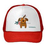 Mistletoe Doggie Wagging - hat