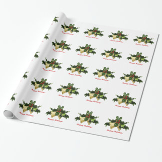 Mistletoe Gift Wrap Paper