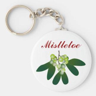 Mistletoe Keychains