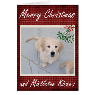Mistletoe Kisses card