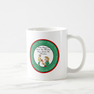Mistletoe Madness Coffee Mug