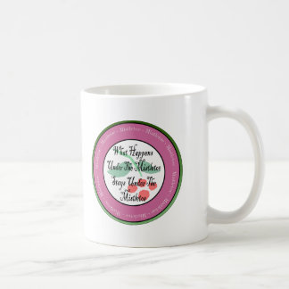 Mistletoe Madness Classic White Coffee Mug
