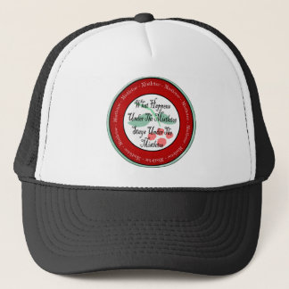 Mistletoe Madness Trucker Hat