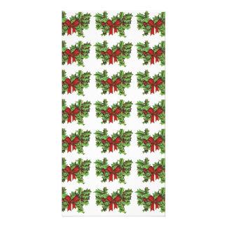 Mistletoe Pattern Picture Card