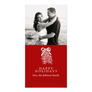 Mistletoe Photo Card Template