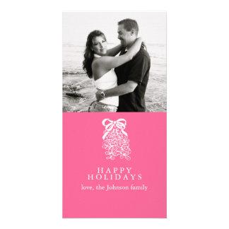 Mistletoe Customized Photo Card
