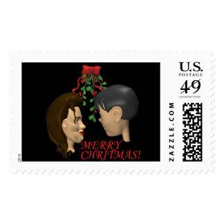Mistletoe Stamps