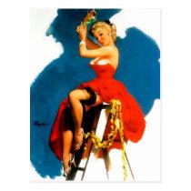 Mistletoe? Postcard