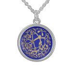 Mistletoe Sterling Silver Necklace