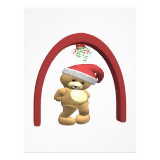 Mistletoe Teddy Bear Full Color Flyer
