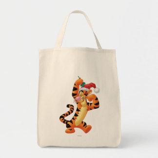 Mistletoe Tigger Canvas Bags