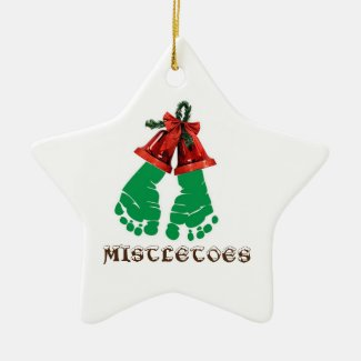 Mistletoes Christmas Ornament
