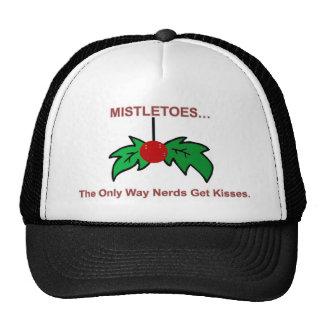 mistletoes mesh hat