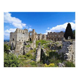 Mistras (Byzantine City), Peloponnese, Greece Flyer