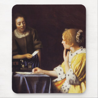 Mistress and Maid Mouse Pad