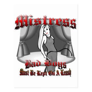 Mistress BDSM Postcard