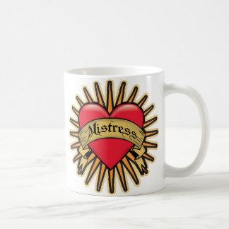 Mistress Heart Tattoo Coffee Mug