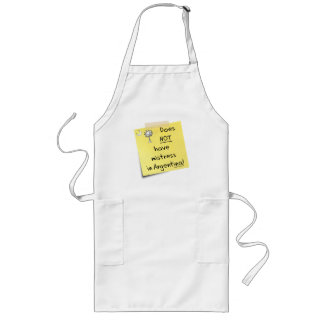 mistress in Argentina Long Apron