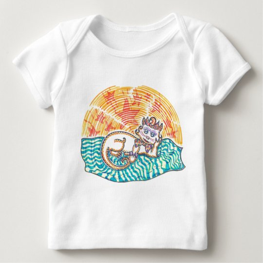 Mistress Marshmallow the Pampered Pussycat Baby T-Shirt