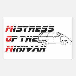 Mistress of the Minivan Bumper Sticker